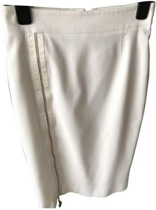 Versace Ecru Cotton - elasthane Skirt for Women