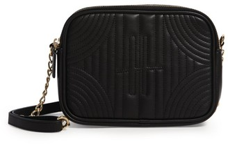 Harrods Primrose Quilted Camera Bag