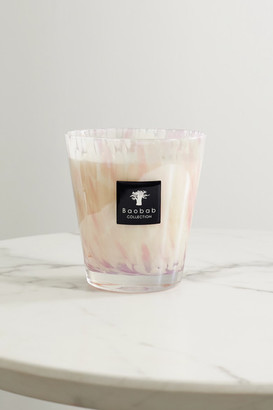 Baobab Collection White Pearls Scented Candle, 2.2kg - Cream