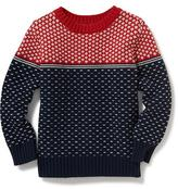 Old Navy Fair Isle Sweater for Toddler Boys