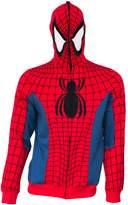 Spiderman Full Zip Costume Hoodie