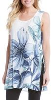 Karen Kane Women's Side Slit Print Tunic