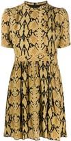 BA&SH Cascade printed short dress