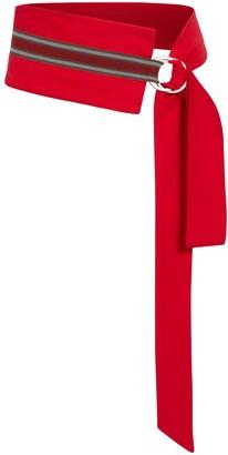 Marianna Déri Mia Tie Belt Red