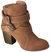 Mossimo Women's Jessica Genuine Suede Strappy Booties