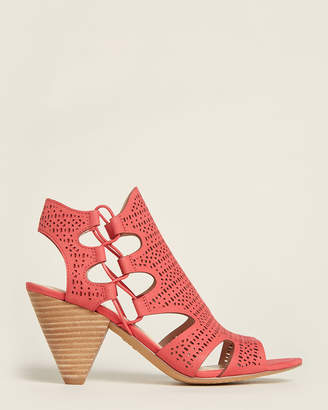 Vince Camuto Coral Rose Eadon Nubuck Ankle Booties