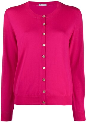P.A.R.O.S.H. Round Neck Buttoned Cardigan
