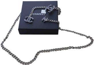 Chanel Silver Chain Belts