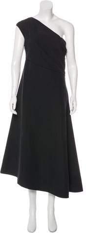 The Row A-Line Midi Dress