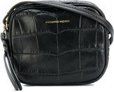 Alexander McQueen crocodile effect crossbody bag