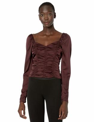Parker Women's Raine Long Sleeve Ruched Blouse