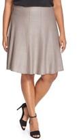 Nic+Zoe Plus Size Women's 'Twirl Flirt' Paneled Skirt