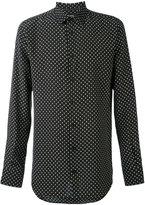 Alexander McQueen polka-dot shirt - men - Silk - 15