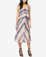 Rachel Roy Striped Popover Midi Dress