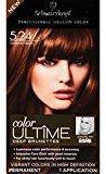 Schwarzkopf Ultime Hair Color Cream, 5.24 Cinnamon Brown, 2.03 Ounce