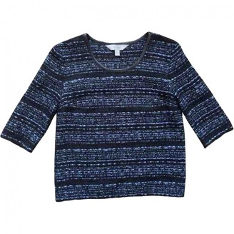 Mulberry Blue Synthetic Tops