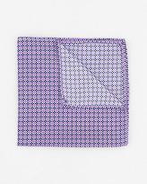 Le Château Novelty Print Woven Pocket Square