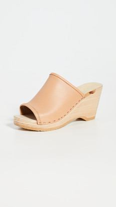 NO.6 STORE Daria Wedge Clogs
