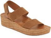 Pedro Garcia Lacey Mock-Croc Suede Flatform Sandals