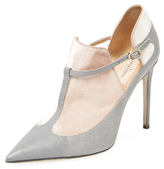 Valentino Colorblock Cut-Out Bootie