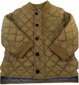 Burberry Gold Cotton Jackets & Coats