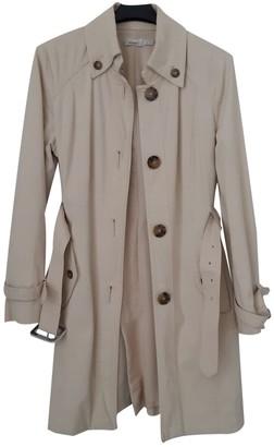 Pinko Beige Cotton Trench Coat for Women