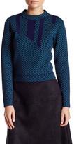 Lucy Paris Chevron Knit Sweater