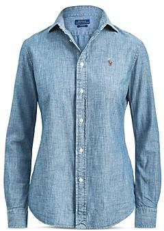 Ralph Lauren Polo Slim-Fit Chambray Shirt