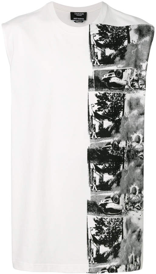 Calvin Klein x Andy Warhol Foundation Car Crash tank top