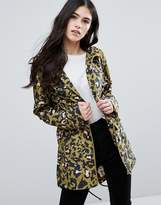 Brave Soul Leopard Trench