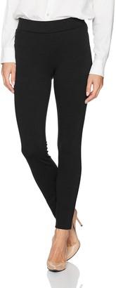 NYDJ Women's Petite Size Basic Pull on Ponte Knit Leggings