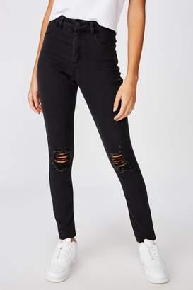 Supre Long Leg Super Skinny Ripped Jean