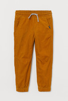 H&M Lined Corduroy Joggers
