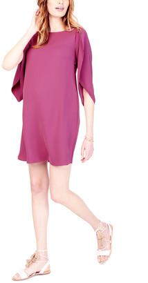 Ingrid & Isabel Maternity Tulip Sleeve Shift Dress