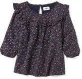 Old Navy Floral Ruffle-Yoke Swing Top for Girl