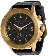 Quiksilver Mens B-52 Chrono 50mm Leather Watch