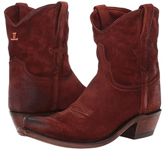 Lucchese Elena (Rust) Women's Shoes