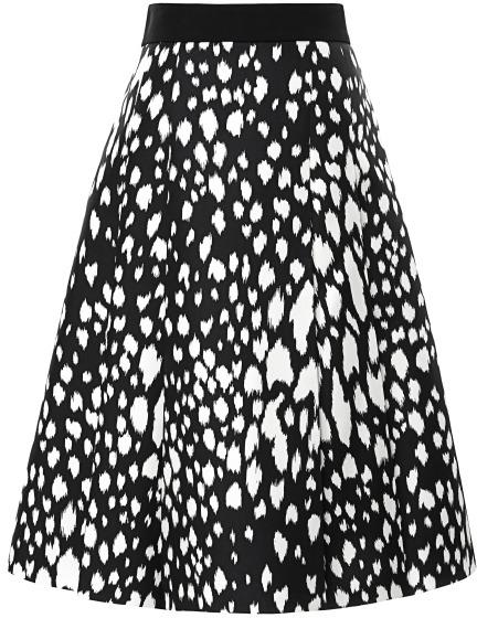 Fausto Puglisi Animal Spotted Nana Skirt