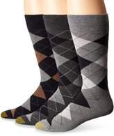 Gold Toe Men's Carlyle Argyle Extended Socks