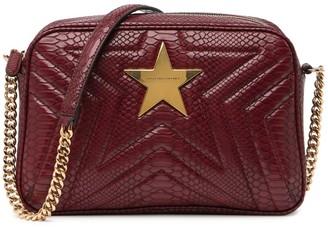 Stella McCartney Star Snake Embossed Shoulder Bag