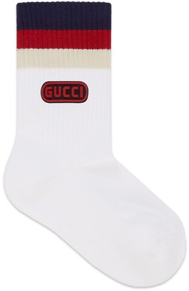 Gucci Children's cotton game socks