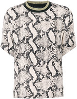 By Malene Birger animal print blouse