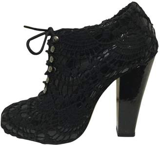 Rodarte \N Black Patent leather Ankle boots