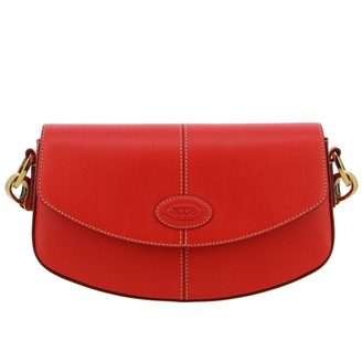Tod's Tods Crossbody Bags Tods C-bag Shoulder Bag In Leather