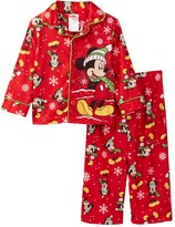 AME Mickey Mouse Holiday PJ Set (Toddler Boys)