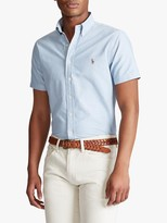 Ralph Lauren Polo Slim Fit Short Sleeve Oxford Shirt