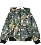 Burberry printed bomber jacket