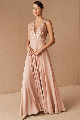 Jenny Yoo Kinsley Dress By in Pink Size 0