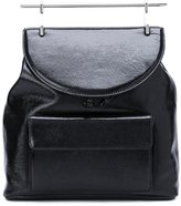 M2Malletier Leather Backpack