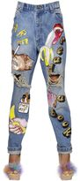 Ashish Embellished & Destroyed Denim Jeans